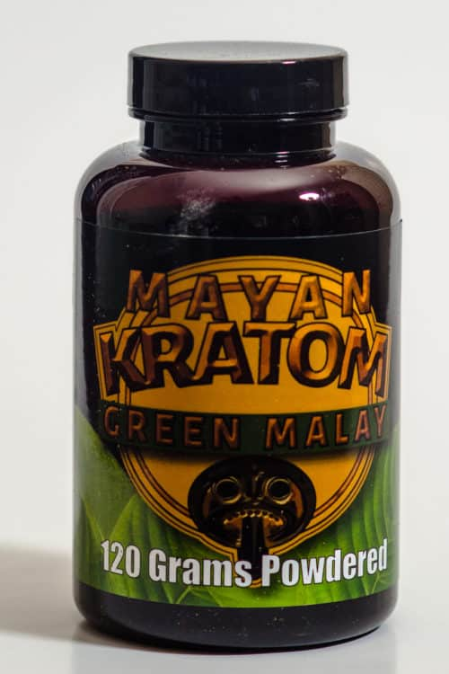 Mayan Kratom Green Malay 120g Powder